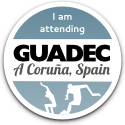 I am attending GUADEC at A Coruña, Spain